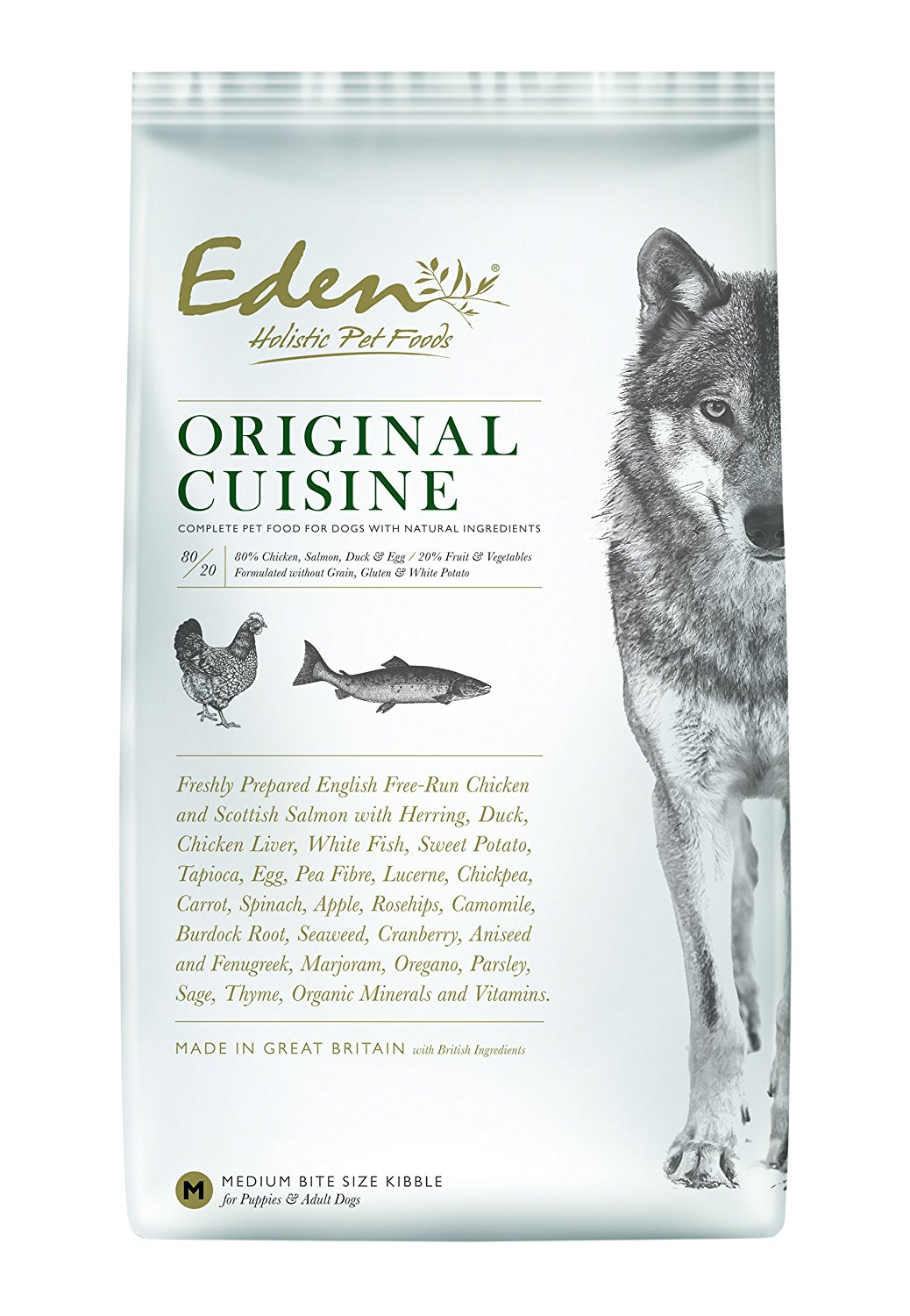 Eden 80/20 Original Cuisine 12kg Dog Food