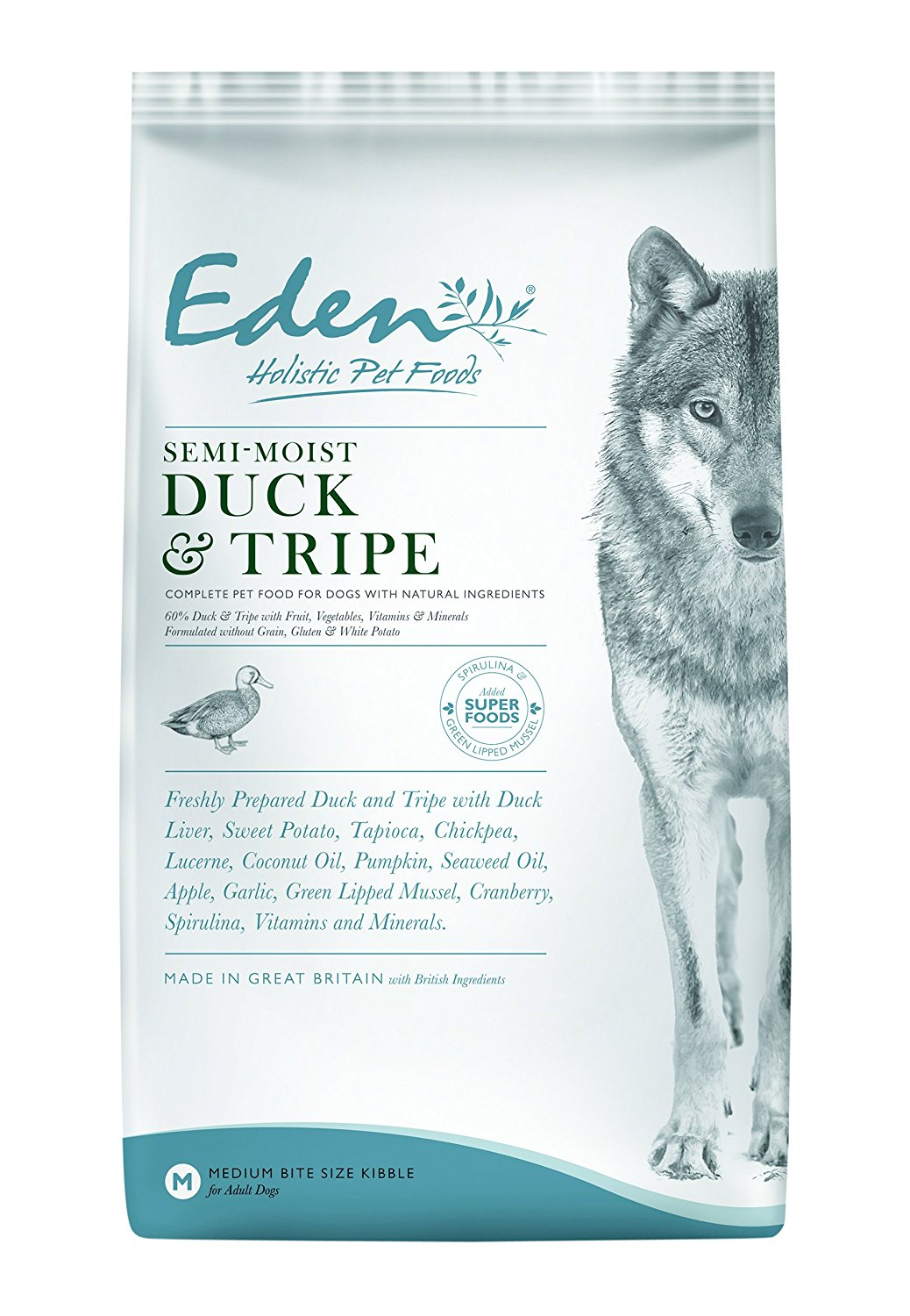 Eden Semi-Moist Duck & Tripe 2kg Dog Food