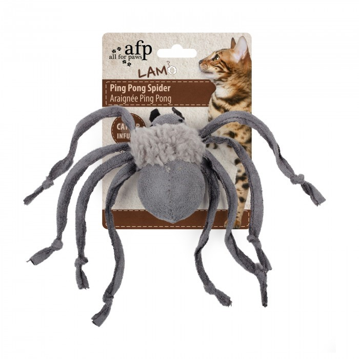 All For Paws Ping Pong Spider GREY