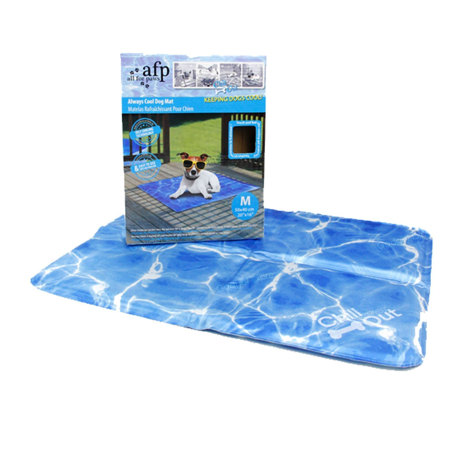 All For Paws Chill Out Always Cool Mat, Medium