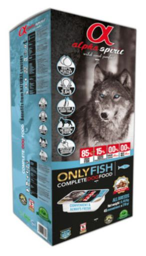 Alpha Spirit Fish Dog Food 9.45kg