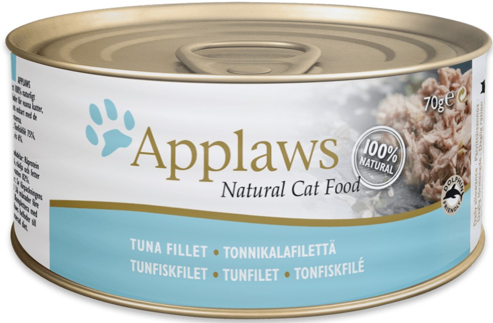 Applaws Cat Food Tin Tuna Fillet 70g