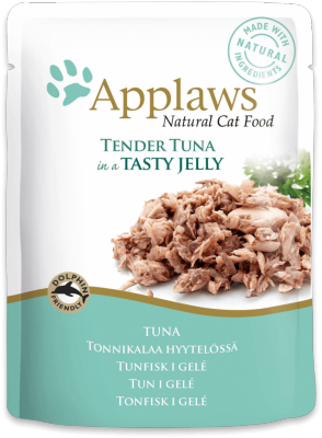 Applaws Tuna Meat in Jelly Cat Pouch 70g