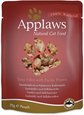 Applaws Cat Food Pouch Tuna and Prawn 70g