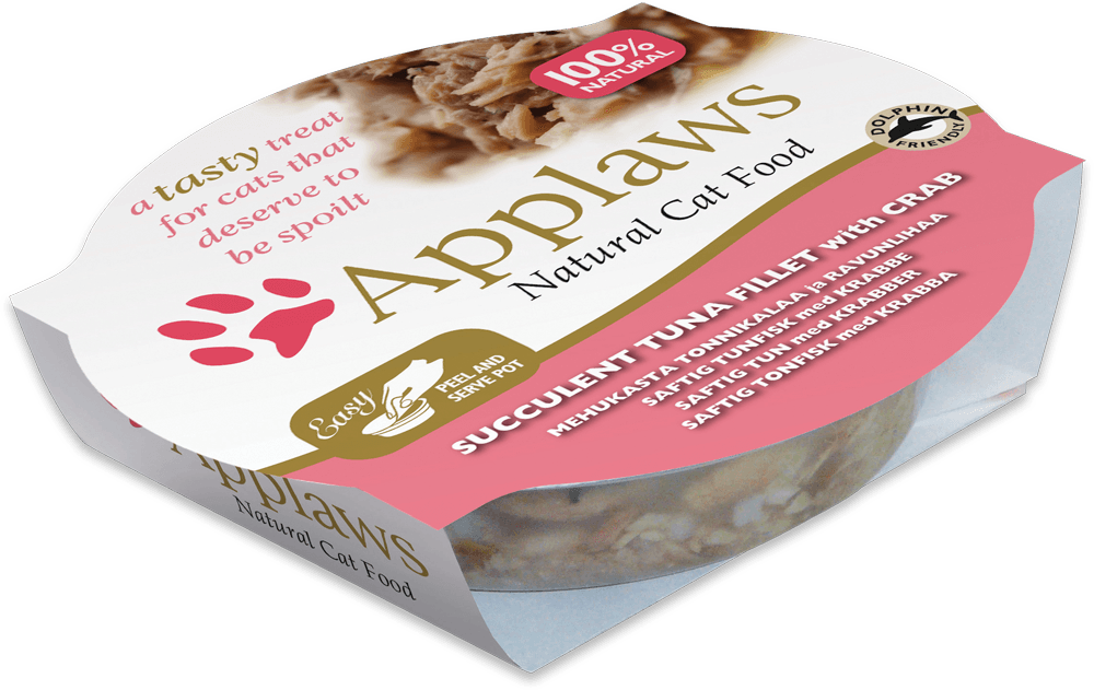 Applaws Cat Pot Succulent Tuna With Crab 60g