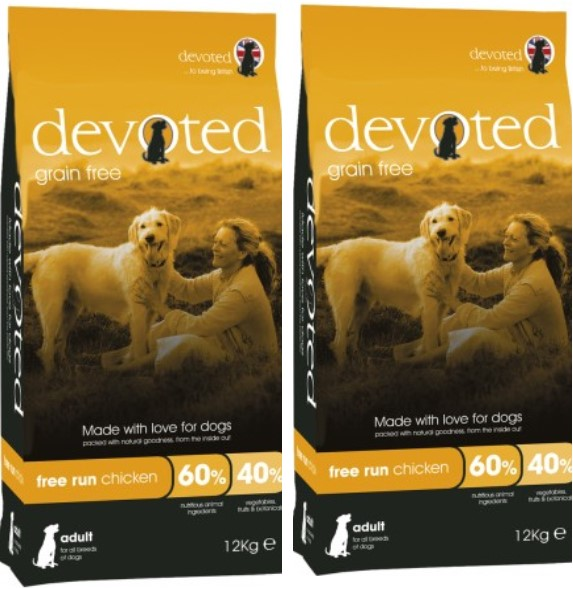 Devoted Free Run Chicken 12kg
