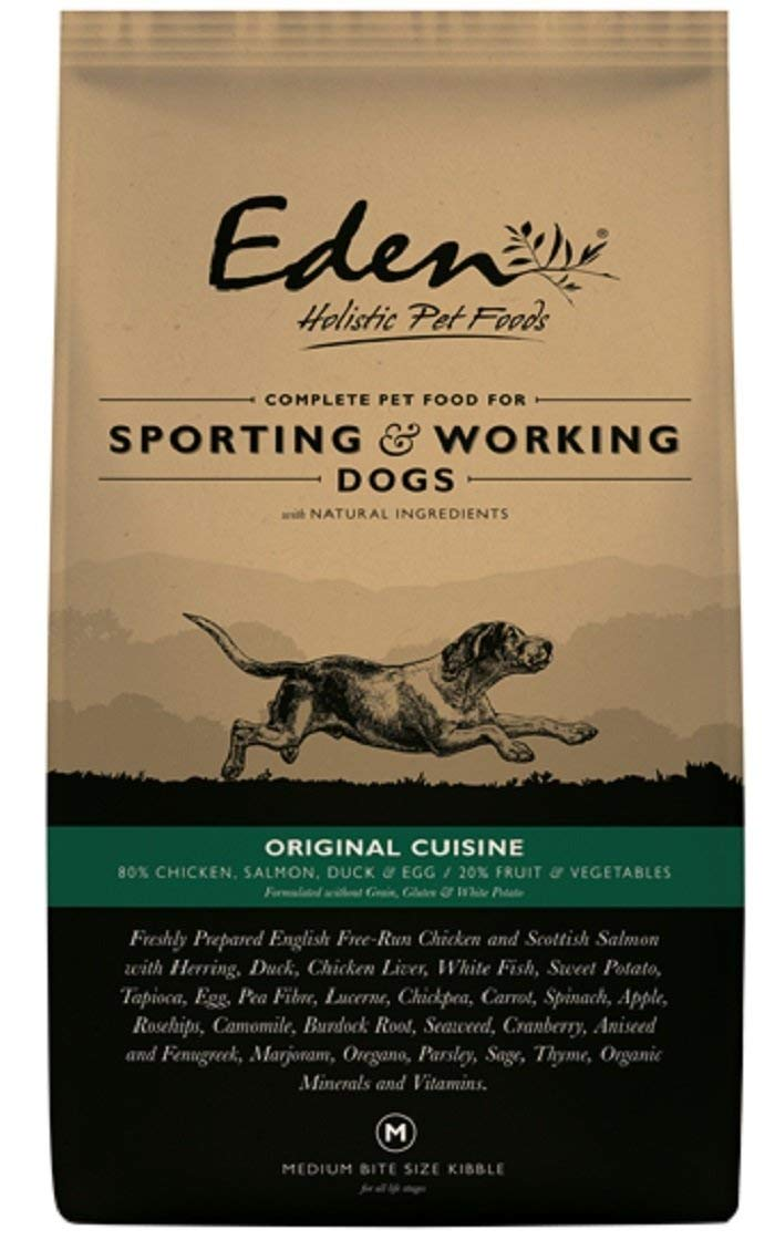 Eden 80/20 Original Cuisine Working and Sporting 15kg Dog Food