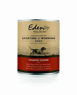 Eden Wet Food for Dogs Country Cuisine 6 x 400g