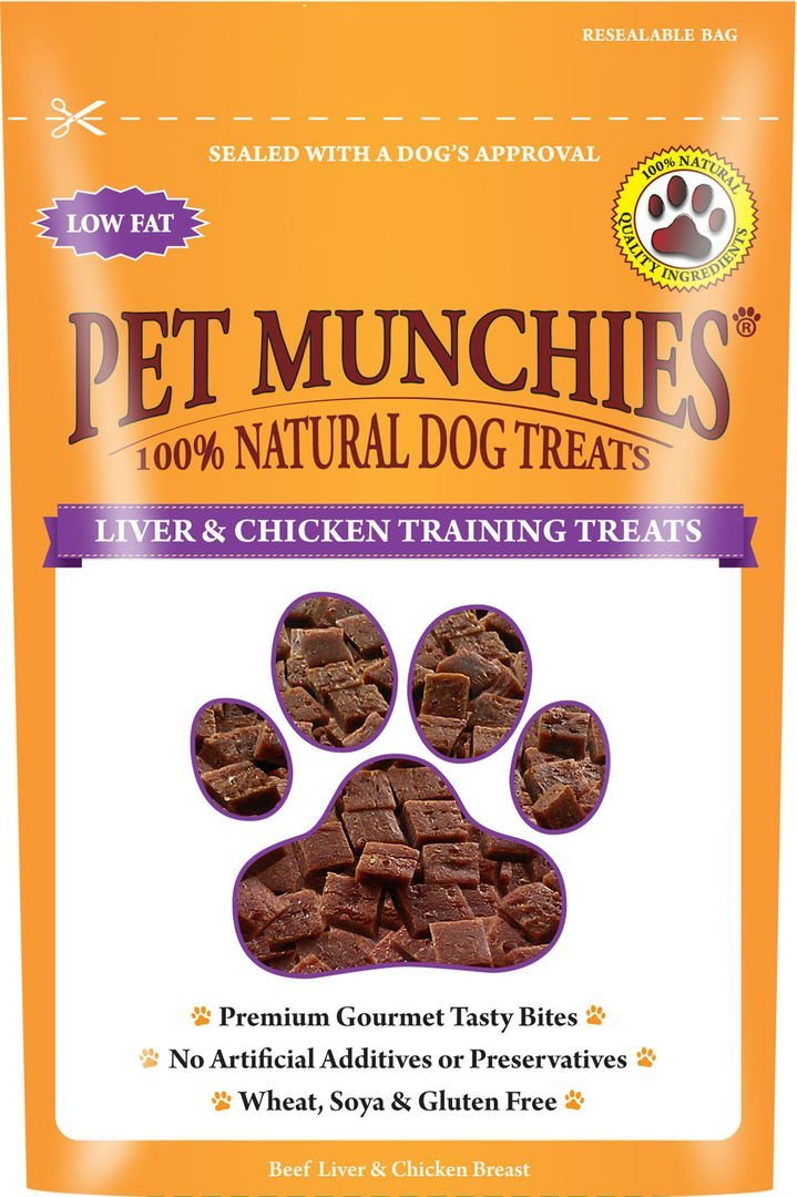 Pet Munchies Training Treats Liver & Chicken