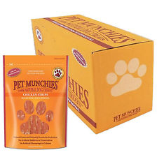 Pet Munchies Chicken Strips 1 box of 8