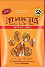 Pet Munchies Chicken Twists 80g