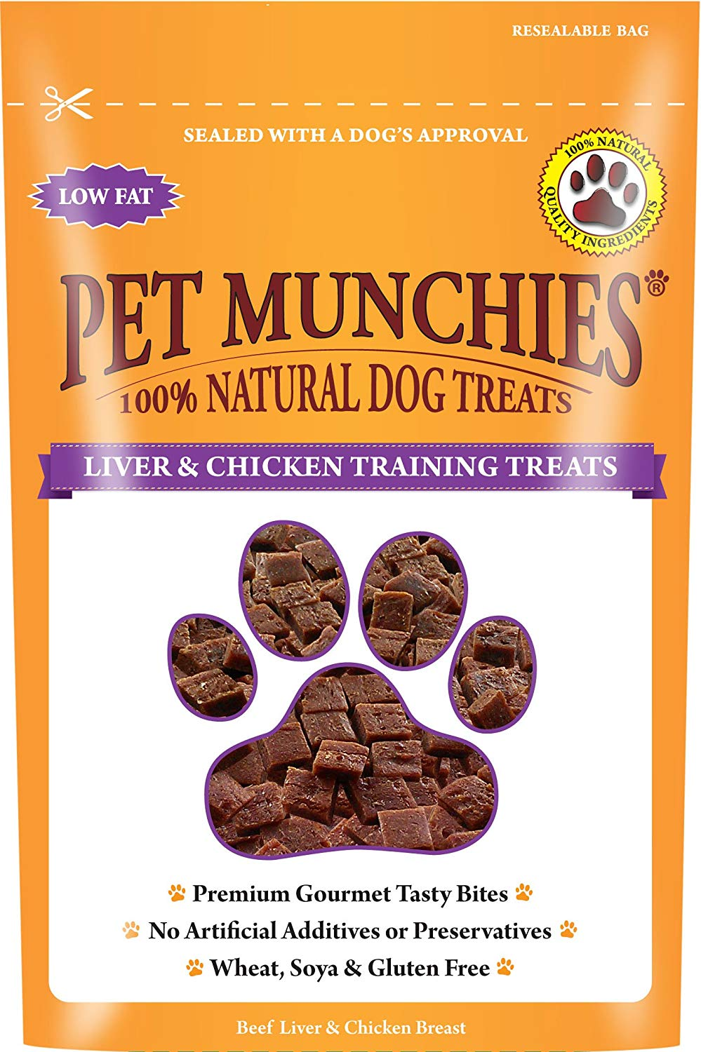 Pet Munchies Training Treats Liver and Chicken 150g