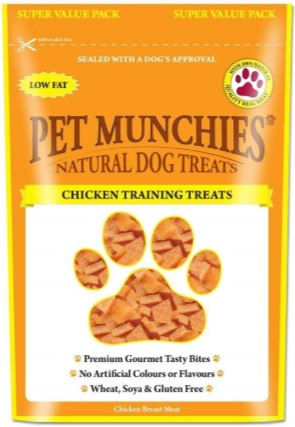 Pet Munchies Training Treats Chicken 150g
