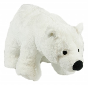 Snow Mates Perdita Polar Bear Dog Toy, Small