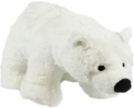 Snow Mates Perdita Polar Bear Dog Toy, XXL