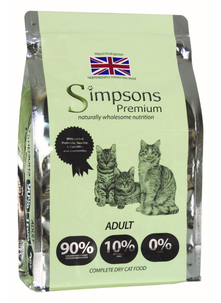 Simpsons Cat 90/10 1.5kg Twin Pack