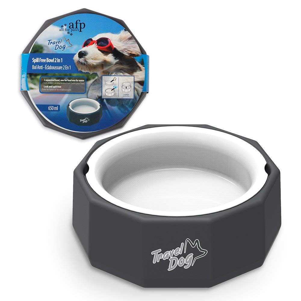 AFP Travel 2 n 1 Water and Food bowl 650ml
