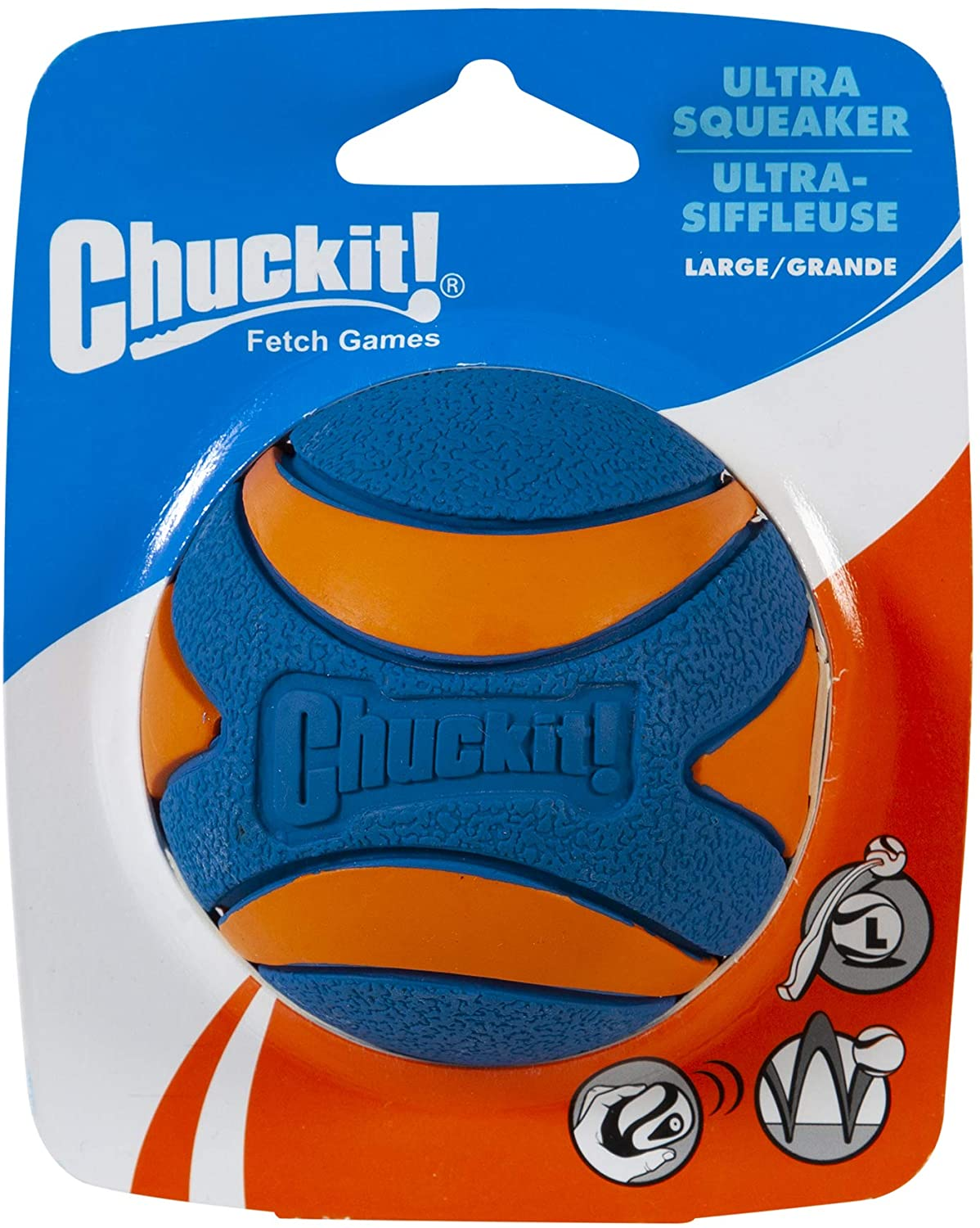 Chuckit Squeaker Ball Large