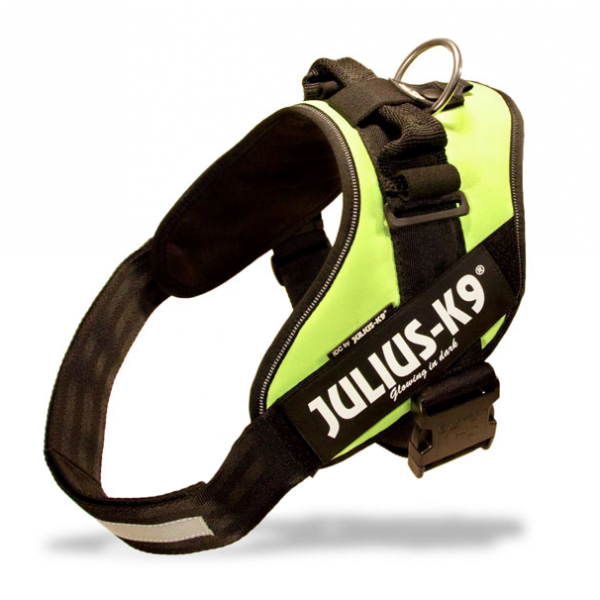 Julius K9 - IDC ® Power Harness - Size 1 - Neon Green