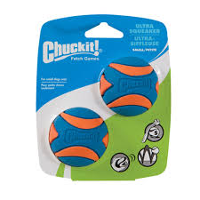 Chuckit Squeaker Ball Small 2pk
